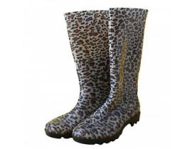 Cizme dama de cauciuc animal print leopard