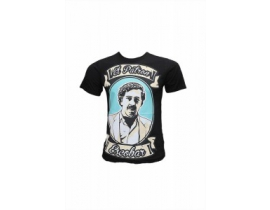 Tricou pentru barbati El Patron Escobar,negru