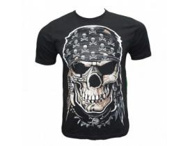 Tricou negru,barbati,Skull Pirate