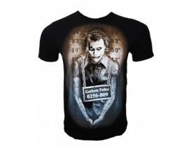Tricou negru,Joker Gotham Police