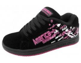 America skate as 0748 negru roz