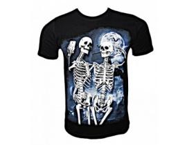 Tricou negru,Skull