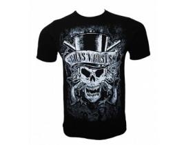 Tricou barbati,negru,Skull Guns n roses