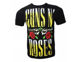 Tricou barbati,negru galben ,Guns n roses