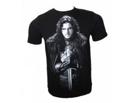 Tricou barbati,negru,Jon Snow