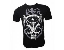 Tricou barbati,negru,Slayer skull
