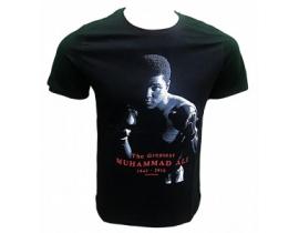 Tricou barbati,negru.The greatest Muhammad Ali