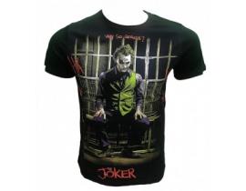 Tricou barbati,negru,Joker orj 031