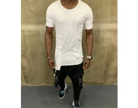 Tricou alb,Clubbing collection