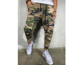 Pantaloni cargo din camuflaj
