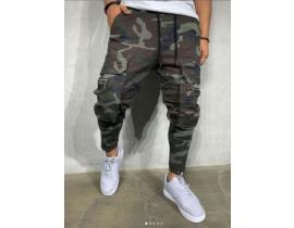 Pantaloni cargo army