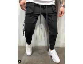Pantaloni barbati negri urban style