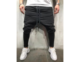 Pantaloni trening cu tur slim fit