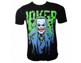 Urban-Tricou Joker,negru verde