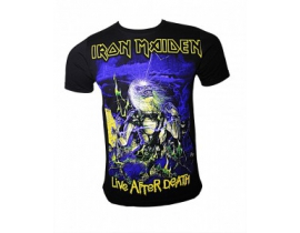 Tricou Iron Maiden,Live after Death