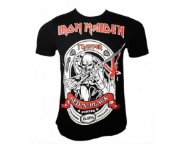 Tricou Iron Maiden,Red N Black