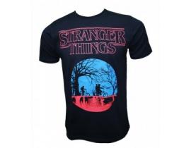 Tricou negru pentru barbati,Stranger Things,blk