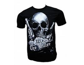 Tricou barbati, negru,The Killer Skull