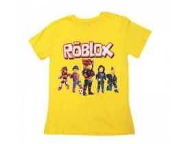 Tricou copii Roblox galben