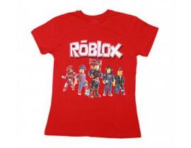Tricou copii Roblox rosu