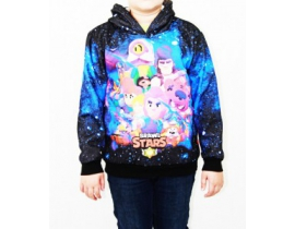 Hanorac pentru copii Brawl Stars, All Stars 3D