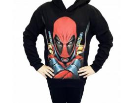 Hanorac copii Deadpool negru