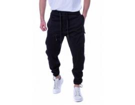 Pantaloni gen vagabond cu buzunare model ITL 99214