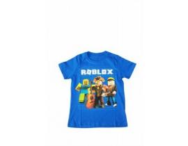 Tricou copii Echipa Roblox  albastru