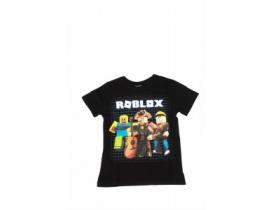 Tricou copii Echipa Roblox  negru