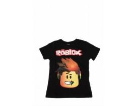 Tricou copii Roblox  negru