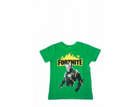 Tricou copii Fortnite verde