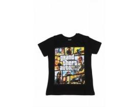 Tricou copii GTA negru