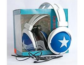 Casti audio Mix Style model 024ms9922 culoare albastru