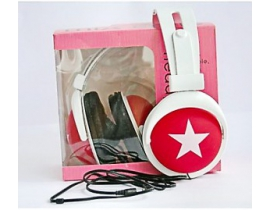 Casti audio Mix Style model 024ms9922 culoare rosie