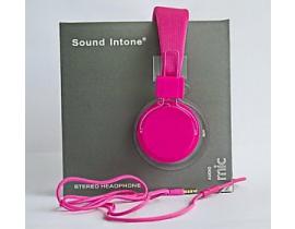 Casti audio Sound Intone model 0023abc331 culoare roz
