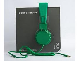 Casti audio Sound Intone model 0023abc331 culoare verde