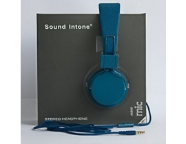 Casti audio Sound Intone model 0023abc331 culoare albastru