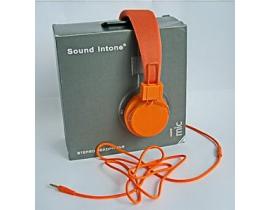 Casti audio Sound Intone model 0023abc331 culoare portocaliu